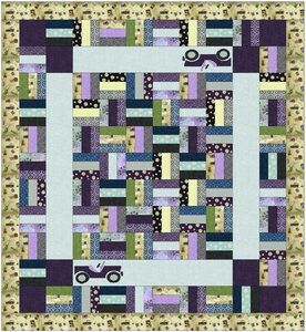 Road Trip Quilt Pattern by RJR Fabrics