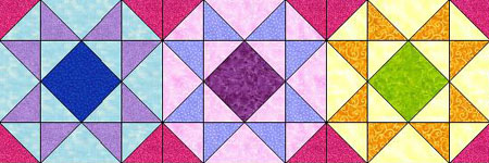 Round Robin Quilting Circle Row by Row Quilt
