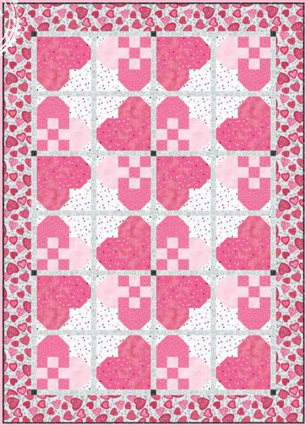 Hug Me Quilt Pattern by Clothworks