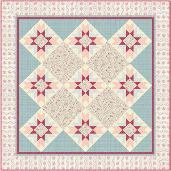 English Diary Quilt Pattern by Andover Fabrics