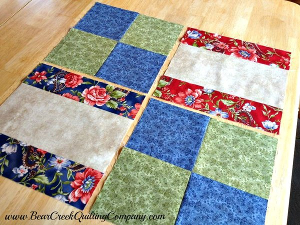 Wristwatch Quilt Assembly Tutorial