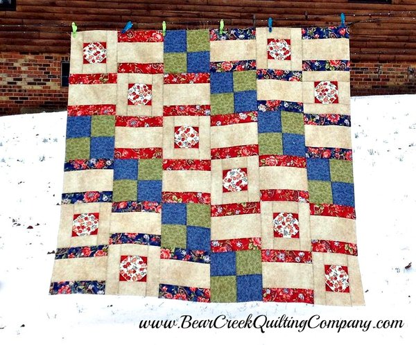 Wristwatch Quilt Tutorial