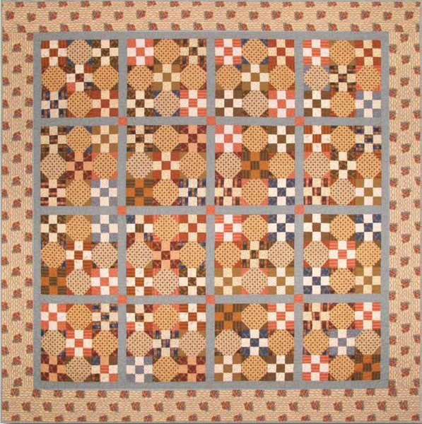 Alexandria Quilt Pattern by Andover Fabrics