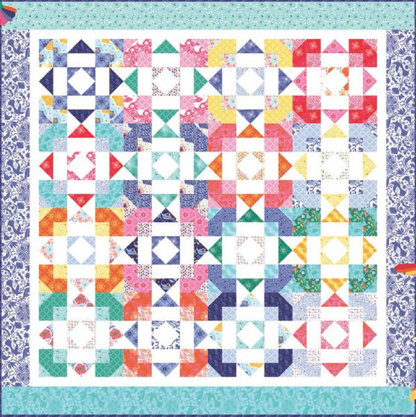 Free Quilt Patterns For Moda Fabric : Free Downloadable Quilt Patterns