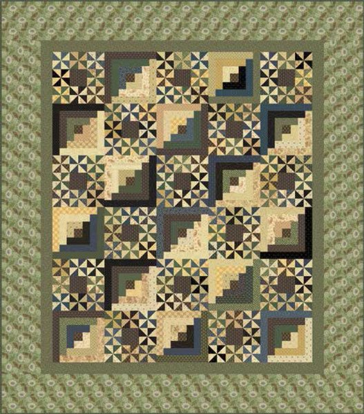 Woodlands Quilt Pattern by Andover Fabrics