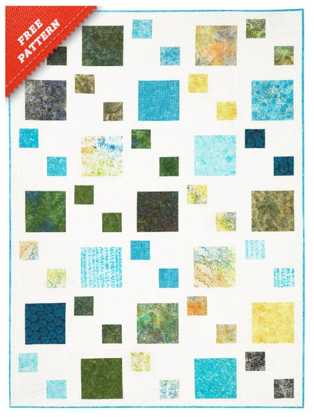 Pebble Path Free Quilt Pattern by Timeless Treasures