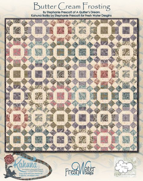 Butter Cream Frosting Free Quilt Pattern by Fresh Water Designs