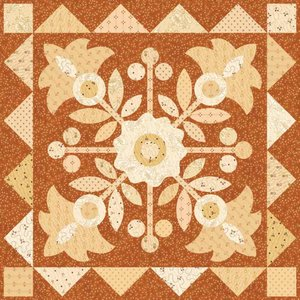 Buttern Churn Basics Quilt Pattern by Henry Glass Fabrics