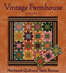 Vintage Farmhouse Quilt Pattern by Henry Glass Fabrics
