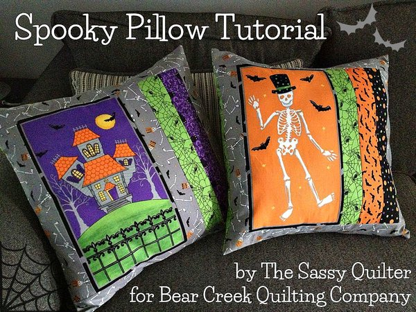 Spooky Pillow Tutorial