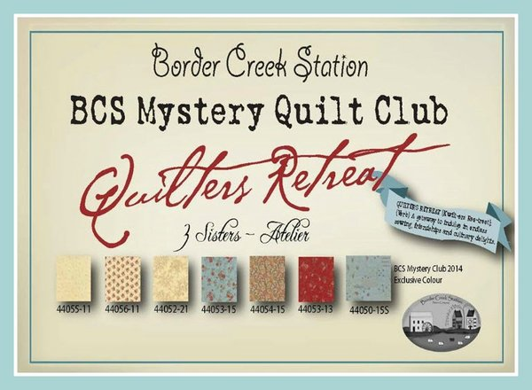 Border Creek Station Mystery Quilt Club