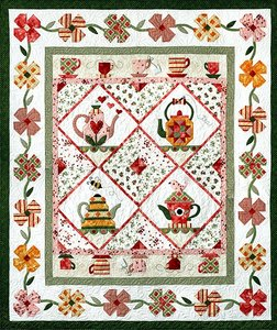 Garden Tea Party Block of the Month