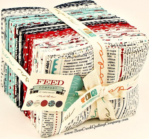 Feed Company Fat Quarter Bundle by Moda