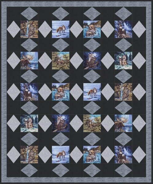 Free downloadable quilt patterns into the wild free quilt pattern by robert kaufman fabrics maxwellsz