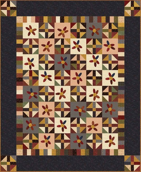 Crazy Like Us Free Quilt Pattern by Henry Glass Fabrics