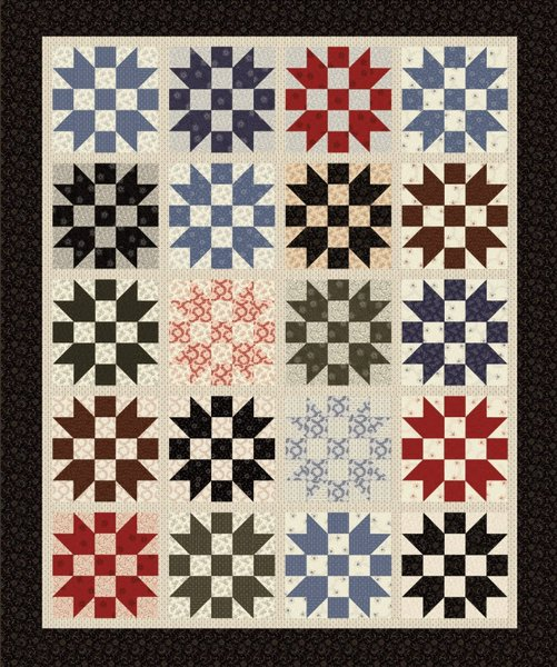 Heritage Free Quilt Pattern by Benartex