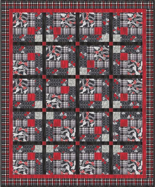 Mad About You Free Quilt Pattern by Benartex