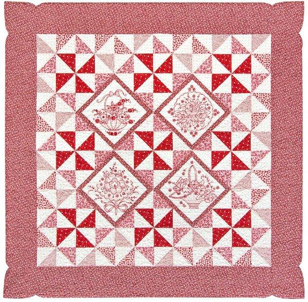 Free Downloadable Quilt Patterns : pinwheel quilt pattern free - Adamdwight.com