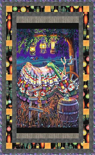 """Sweet Dreams Princess""  free quilt pattern courtesy of Elizabeth's Studios"