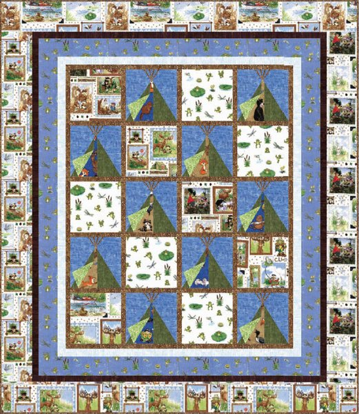 Free downloadable quilt patterns the great outdoors free quilt pattern by hoffman fabrics maxwellsz