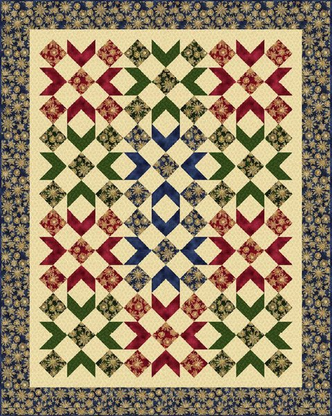 Winterly Wonderful Free Quilt Pattern by Marcus Fabrics
