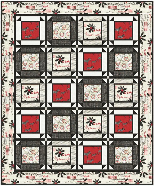 Zuzu Free Quilt Pattern by Timeless Treasures