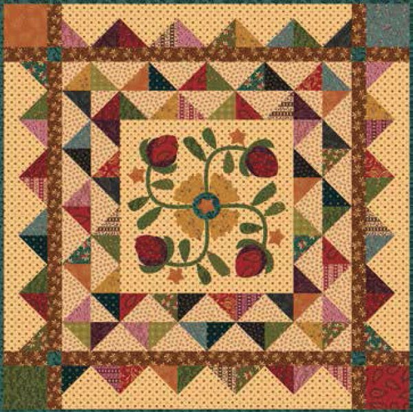 Hopscotch Medallion Quilt Pattern by Henry Glass Fabrics