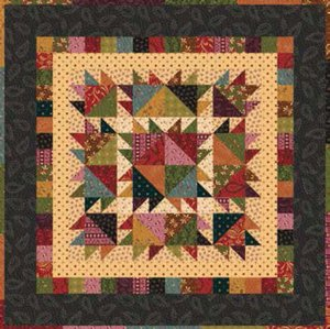 Laundy Day Quilt Pattern by Henry Glass Fabrics