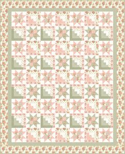 Gentle Garden Free Quilt Pattern by Henry Glass & Co.