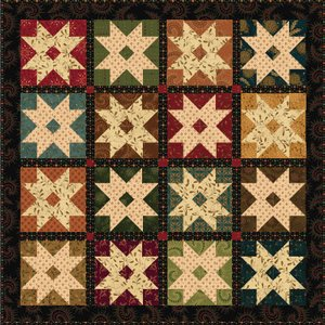 Barn Stars by Kim Diehl for Henry Glass & Inc.
