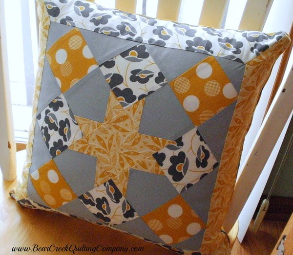Granny Star Pillow Tutorial