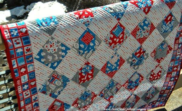 Airmail Envelope Quilt - Part 1 : envelope quilt pattern - Adamdwight.com